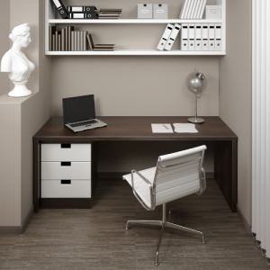 seperate work space Benefits of Using a Desk Working from Home