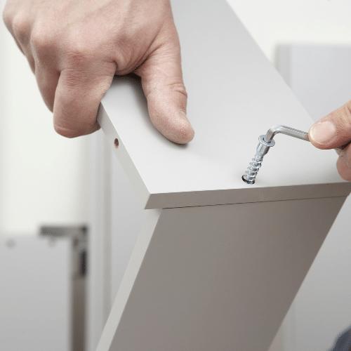 building flat pack furniture tools