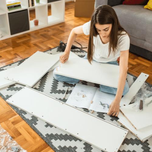 building flat pack furniture tips