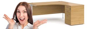 Large corner desk UK product review